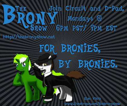 The Brony Show Banner by nbunomad