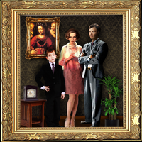 Tom Riddle's family portrait by drkay85