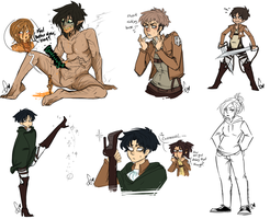AoT Things by Squidbiscuit