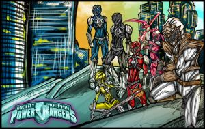 Power Rangers: The Guardians by Kiarou