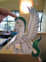 Pegasus :Paper Animal: by Yuffie1972