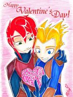 Be My Valentine-AerrowxFinn by BatMantle