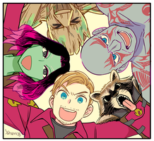 we are GotG! by yahuxx28
