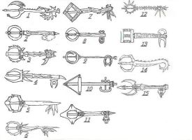 The Keys of Tamriel by Project-XIII