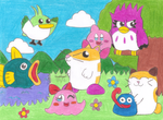 Kirby's Animal Buddies by MarioSimpson1