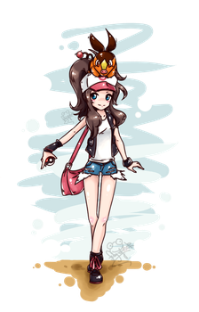pokemon chick by Frog-of-Rock
