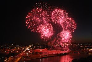 Explosions in Pink by calger459