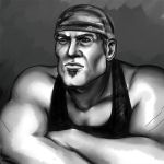 Marcus Fenix sketch by SargeCrys