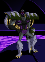 Animated style Beast Megatron by Alexander-Sin