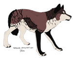 .: Wolf Adoptable :. [CLOSED] by Cannidae
