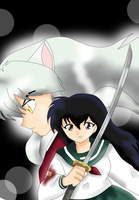 The scent of Kagome's blood by FreddyKruegerFan12