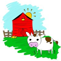 Cow N Barn by Lucora