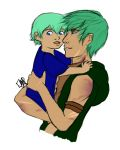 Father And Son by EllenorMererid