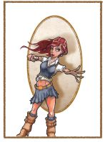 Ginny Weasley by Pencilbags