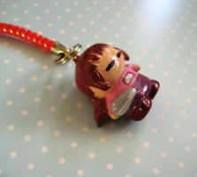 Yume Nikki Madotsuki Charm by Shattered-Earth