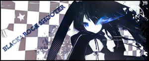 Black Rock Shooter sig by Juleeh