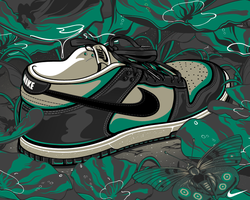 Nike Dunk Low by Aseo
