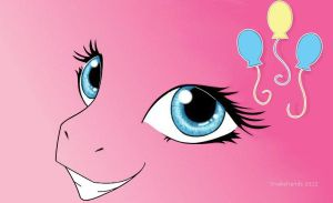 MLP Pinkie Pie eyes wallpaper by snakehands