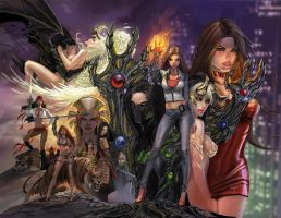 witchblade silvestri spread by calisto-lynn