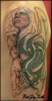 Brendan Cover 1st Session by Reddogtattoo