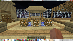 Minecraft My New Home ( Center Of Top level ) by MikaMori