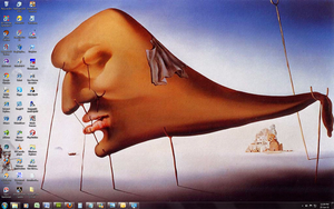 Salvador Dali - Win 7 Theme by Windowsthememanager