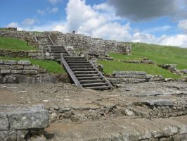 Hadrian's Wall Stock 124 by CoolCurry-Stock