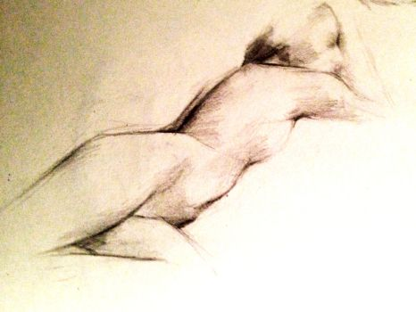 Life Drawing Twist by nome94
