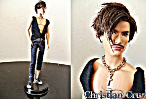 Christian Cruz Model doll by pepegir18