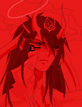 so red it hurts to look at by Pharos-Chan