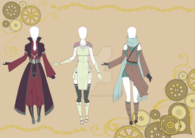 Adoptables outfit set 22 CLOSED by HardyDytonia