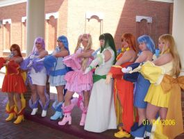 Eight Mermaid Princesses by Twin-EdgeCosplay