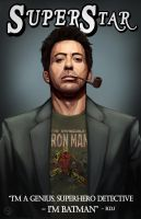 Robert Downey Jr. - Super Star by AndrewKwan