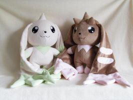 Lopmon Terriermon 2012 by MagnaStorm