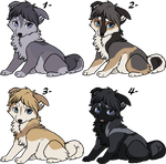Other fluffy puppies _adoptables_CLOSED by Lew-LapinGris