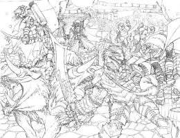 Shadow Rift Line Art by ChristopherStevens