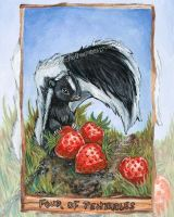 Four of Pentacles Tarot Card by sobeyondthis
