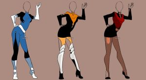 Fashion Adoptables Auction 19 - CLOSED by Karijn-s-Basement