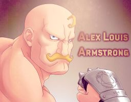 Alex Louis Armstrong by lchrno