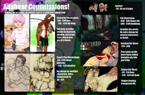 Commission Information by Tzadike