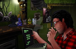 Markiplier FNAF3 by laurytheotter