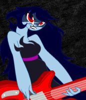 Adventure Time :Marceline the Vampire Queen by ModernLisart