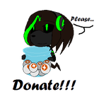 Donate please! by Crystalthehedgehog9