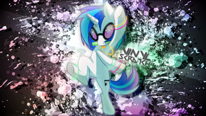 Vinyl Scratch Wallpaper by JeremiS