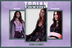 PACK PNG #06 | TROIAN BELLISARIO by oncesoul