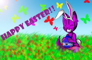 Happy Easter, dA by cheshire-cat-tamer