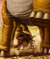 John Carter of Mars. Woola by jen-and-kris