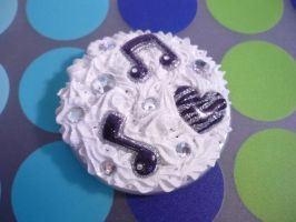 Decoden Music Themed Compact Mirror by Kuppiecake