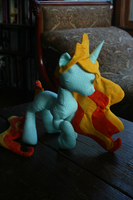 Princess Lights with Raised Hoof and Turnable Head by valleyviolet