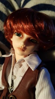Doran Reshell with New Faceup by Blackeyes1001
